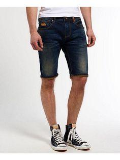 11512 Fashion4Young Damen Jeans Bermuda Hose Boyfriend Denim Shorts  Haremscut Knopfleiste Jeansbermudas Slimline Slim-Fit (blau, XS-34) - Sommer  Ho…