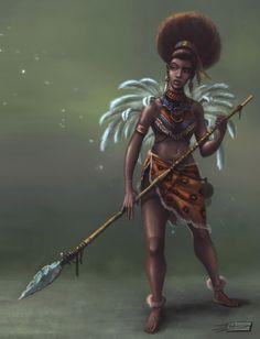 fuckyeablackart: Tribal Royal by *augustok - logangaiarpg