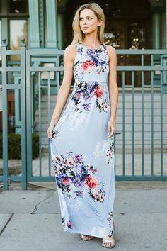 Floral Bouquet Maxi Dress Best Maxi Dresses, Cute Dresses, Beautiful Dresses, Long Dresses, Modest Church Outfits, Church Dresses, Floaty Dress, Floral Maxi Dress, Winter Dresses