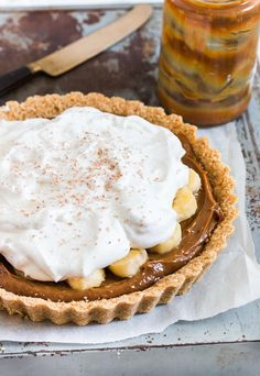 Quick and Easy Banoffee Pie Recipe   TheBestDessertRecipes.com