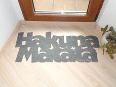 Hakuna Matata doormat. The Lion King. Custom door mat. by Xatara