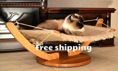 Oak Cat hammockgift ideasCat bedcat by DesignWoodenGadget on Etsy