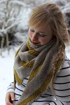 Messenger shawl by Stephanie Shiman