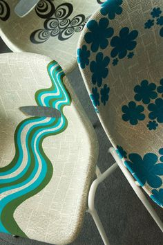 You can enjoy Lou Rota's upcycled polyprop 'Art on Legs' chairs, especially created for Staying Cool, in all of our Rotunda apartments   http://lourota.com/index.php?route=blog/post&blog_category_id=35&post_id=7