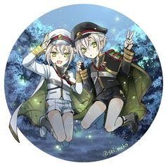 Anime Characters, Fictional Characters, Yuri On Ice, Touken Ranbu, White Hair, In My Feelings, Fangirl, Cute, Fan Girl
