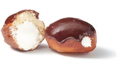Mexican Hot Chocolate–Glazed Sufganiyot (Hanukkah Doughnuts) with Marshmallow Filling Recipe