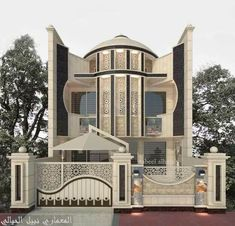 Top 30 Modern House Design Ideas For 2020 - Engineering Discoveries Classic House Exterior, Modern Exterior House Designs, Classic House Design, Bungalow House Design, Minimalist House Design, Dream House Exterior, Modern House Design, Exterior Design, Villa Design