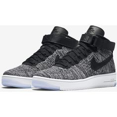 Nike Air Force 1 Ultra Flyknit Women's Shoe. Nike.com (13.555 RUB) ❤ liked on Polyvore featuring shoes, nike shoes, flyknit shoes, nike footwear and nike