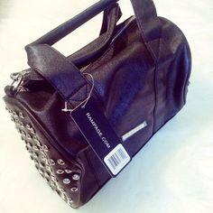Rampage Handbags - HP! Rampage Studded Satchel on Poshmark