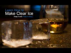 Hvordan lage krystalklare isbiter - du kommer til å bli overrasket - Europeiske Bartenderskolen