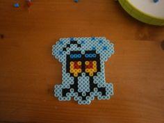 Squidward Spongebob perler beads by KarinMind on deviantart