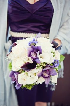Perfect purple hues...Photography by Mint Photography / mymintphotography.com, Floral Design by The Tuscan Rose / thetuscanrose.com/