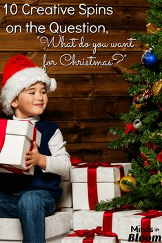 "The question, ""What do you want for Christmas?"" is an age-old one that could use some updating. In this post I list 10 fun, creative spins on the question that will encourage your students to practice creative and critical thinking in order to answer it. Christmas Activities, Christmas Crafts, Winter Activities, A Christmas Story, Christmas Tree, Writing Resources, Writing Ideas, Writing Prompts, Teaching Reading"