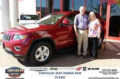 https://flic.kr/p/ytfFT4 | Happy Anniversary to Art & Marilyn on your #Jeep #Grand Cherokee from Ruben Perez at Huffines Chrysler Jeep Dodge RAM Plano | deliverymaxx.com/DealerReviews.aspx?DealerCode=PMMM