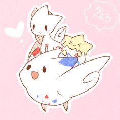 "mashimaro-love: Pokemon "" Togepi evolutions """