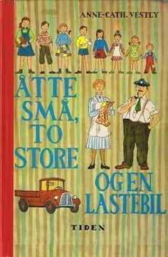 anne cath vestly bøker  Åtte små, to store og en lastebil