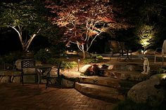 Outdoor lighting on Pinterest | outdoor lighting is a tricky matter you want to have enough light to ...