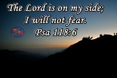INSPIRATION:GOS ALMIGHTY IS ON YOUR SIDE Yahweh is on my side. I will not be afraid. What can man do to me? (Psalms 118:6) Almighty God Himself is on your side. You dont need to be afraid. He Has the authority and power over the enemy. He told devil dont touch the body and he didnt,again He said dont touch His life, he didnt touch Job.He told sun to raise in east and till now it has never changed its course.When God is on your side, no more blockades, you get the favour, goodness…