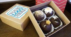 Corporate Brownie Truffle Box