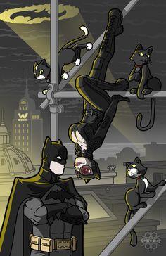 Bats and Cats by lukemckay.deviantart.com on @deviantART
