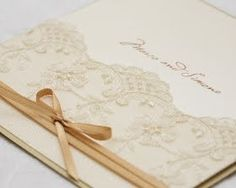 Another idea for wedding invitations.. very pretty