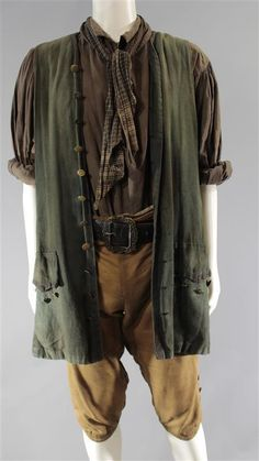 BLACK SAILS DUFRESNE ROLAND REED SCREEN WORN PIRATE COSTUME SS 1 & 2