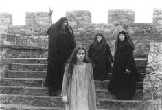 Helena Bonham Carter as Katelina van Borselen exhiled ad besieged in Famagusta (Race of Scorpions)