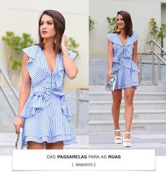 Camila Coelho (@MakeUpByCamila) | Twitter Little Dresses, Cute Dresses, Casual Dresses, Short Dresses, Summer Dresses, Classy Outfits, Pretty Outfits, Cute Outfits, Love Fashion