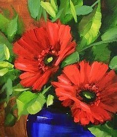 Daisy Chain Red Gerberas