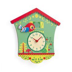 Little Big room Horloge Coucou Peggy - Gaspard