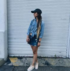 Back at it again with the denim on denim  @katrinanicolephotography . . . . #fashion #fashiongram #fashionblog #fashionblogger #fblog #fbblogger #fblogger #fbloggers #fashionbloggers #fashiondiaries #fashionpost #fashionaddict #ootd #ootdshare #ootn #ootdwatch #ootdmag #whatiworetoday #wiwt #wearitloveit #currentlywearing #style #stylish #styleblog #igfashion #streetfashion