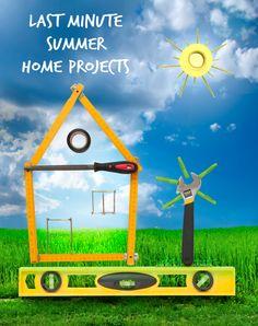 Last Minute Summer Home Projects http://www.ferrispropertygroup.com/blog/last-minute-summer-home-projects/?utm_content=buffer6d5d1&utm_medium=social&utm_source=pinterest.com&utm_campaign=buffer #homeownership #homemaintenance