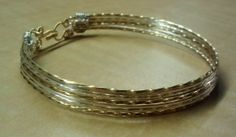 Wire Wrapped Bangle Bracelet Wire Bracelet by KimsSimpleTreasures, $15.00