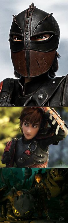 Click for Transformation Gaaaw! I loved the new trailer and the new poster.  And fem!Hiccup is a beauty-patooty tomboy who just wants to fly free with the wind in her hair. Click for More Edit...