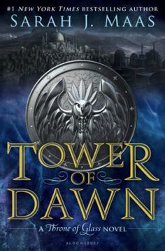 Tower of dawn cover reveal! - Throne of Glass book six - Throne of Galls 6 cover is revealed!