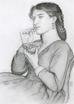 Pre Raphaelite Art: Dante Gabriel Rossetti - Sweet-tooth