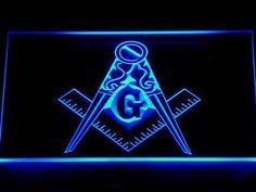 Freemasonry Ornate LED Neon Sign