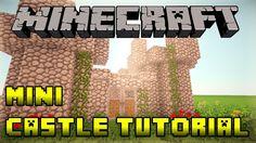 Minecraft - How to Build a Mini Small Castle Tutorial - Xbox/PS3/PE/PC (...