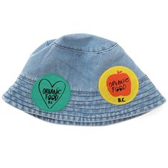 New Bobo Choses denim hat - perfect accessory this summer!