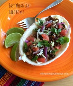 Easy Weeknight Taco