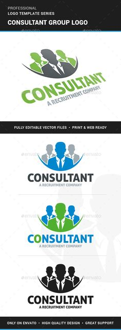 Consultant Group Logo Template Vector EPS, AI. Download here: http://graphicriver.net/item/consultant-group-logo-template/12729123?ref=ksioks