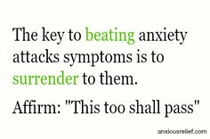 Anxiety attacks symptoms might hit you without warning (which often leads you to think that you are surely dying!) or they are triggered by something that causes you to panic.