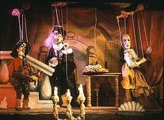 """Marionette Theater in Prague. We all grew up loving puppets and marionettes! I remember  as a child seeing a production of """"Faust"""" in a travelling puppet show and it was amazing!"""