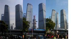 Shanghai tower building prosess.