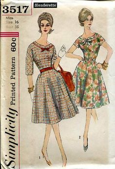 Simplicity 3517; ca. 1960