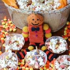 With Halloween around the corner it's a perfect time to get your little monsters ready with this popcorn, treat! Get the Monster Munch recipe here!