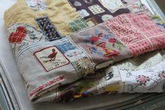 patchwork journal lap quilt  pam garrison