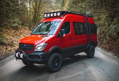 Based in North Vancouver, British Columbia, Nomad Vanz builds custom overland expedition vans for those who want to travel off-the-grid. Most builds use the Mercedes-Benz Sprinter, with different upgrade levels … Mercedes Benz Vans, Mercedes Sprinter Camper, Benz Sprinter, Van Mercedes, Sprinter Motorhome, 4x4 Camper Van, 4x4 Van, Off Road Camper, Camper Life