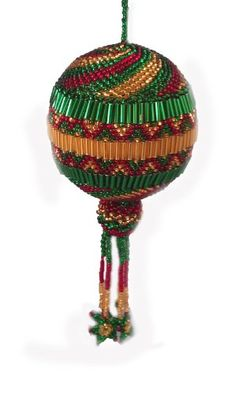 Colored Christmas Ball Large Ornament Handmade in Guatemala * This is an Amazon Affiliate link. You can find out more details at the link of the image.