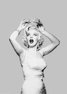 the queen of hollywood Marilyn Monroe with h.-the queen of hollywood Marilyn Monroe with her crown….well sh… the queen of hollywood Marilyn Monroe with her crown….well she was the queen of Hollywood -